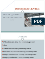 Crop Processing Center Power Point