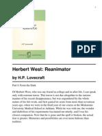 Herbert West- Re Animator
