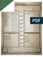 Black Industries - Dark Heresy - Character Sheet