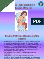 Politica Institucional Lactancia Materna