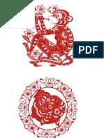 Dibujo  de Jabalí y Mono
