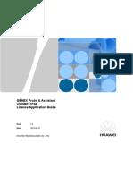 GENEX Probe & Assistant V300R017C00 License Application Guide