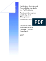 6887,Guidelines for Internal Control Standarts for the Public Sector Information on Entity Risk Management Intosai Gov9130