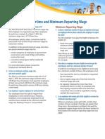 Minimum Wage Overtime