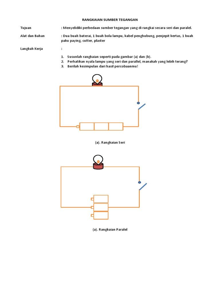 Lks Rangkaian Sumber Tegangan