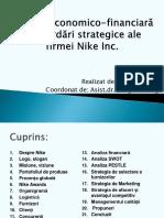 Analiza economico-financiară și abordări strategice ale firmei Nike Inc.