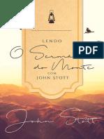 Lendo o Sermão do Monte com John Stott - Trecho