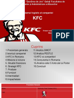 Sistemul logistic al companiei KFC