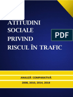 Analiza Comparativa Atitudini Sociale Privind Riscul in Trafic