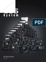 Canon Eos System Brochure 2018
