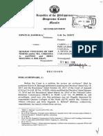 Barroga vs QCN_JPerlas_Bernabe_Voluntary Retirement vs Involuntary Retirement Amounting to Illegal Dismissal