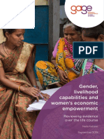Kabeer Gender Livelihood Capabilities