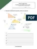 3.3 - Triângulos - Propriedades, Classificação e Construção - Ficha de Trabalho (2)