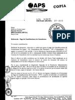 Pago de Contribuciones de Consultores Bolivia