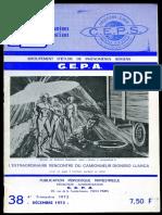 GEPA N°38 - DECEMBRE 1973