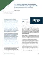5719 Rentabilidad en La Industria Argentina