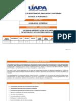 MTL-515 Lectura e Interpretacion de Planos Catastrales y Operaciones Parcelarias