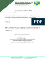 Portaria  002.2019