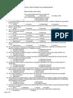 Diagnostic Test in PR1