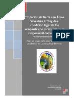 Política de Persecución Penal Ambiental