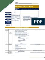Programa de Curso Comercio Internacinal