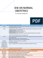 Review on Normal Obstetrics
