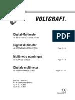 124602-An-01-Ml-Voltcraft Vc850 Dmm de en Fr Nl