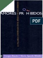 Amores Prohibidos. La Palabra Condenada en El México de Los Virreyes Antología de Coplas y Versos Censurados Por La Inquisición