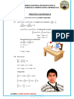 Practica Calificada Análisis Matemático IV