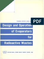 Design and Operation of Evaporators