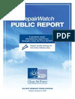 RepairWatcth Public Report
