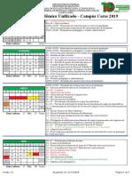 Calendário Acadêmico 2019 - Campus Ceres - V1.0