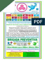 TABLOIDE COLIBRI- ODS 2015-2030 Servicio Social y Practicas Profesionales 2015