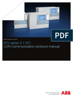511352 - 670 Series 2.1 IEC - LON Communication Protocol Manual