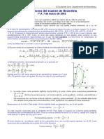 matematicas geometria bachiller soluciones