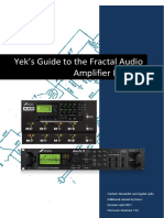 AX8 - Yeks Guide to the Fractal Audio Amp Models