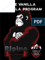 vanilla gorilla program