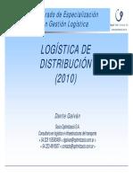 Logística de Distribución 2010