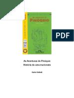 As Aventuras de Pinóquio História de Uma Marionete. Carlo Collodi
