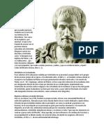 Aristóteles Resumen