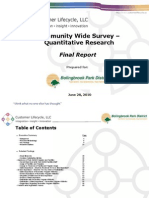 Report BBPD Community Wide Survey Final 06-28-10
