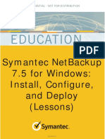 Symantec Netbackup Education - 100-002701-A