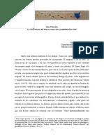 """""""Idea Vilariño. La reescritura del Diario como otra posibilidad de vida"""""""