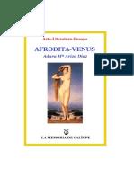 Venus-Afrodita, de María Ariza Díaz