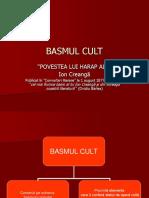 Basmul Cult.ppt Andra