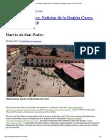 Barrio de San Pedro Cusco, Turismo en Cusco