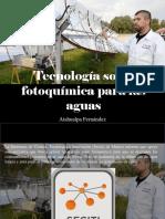 Atahualpa Fernández - Tecnología Solar Fotoquímica Para Las Aguas