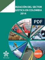 . Reporte Caracterizacion Sector Logistica 2014 Entorno Tendencias pREFACIO
