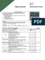 Guia de Seleção de Modelo UDC2500