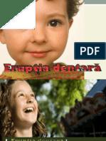 Curs Eruptia Dentara an IV 2017